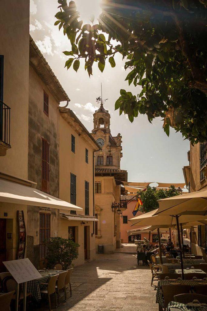 Alcudia town in Mallorca