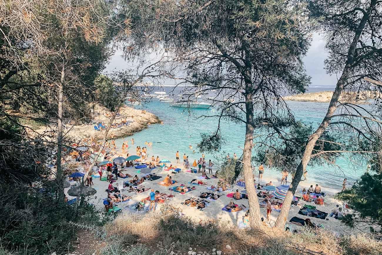 Cala Comtesa in Mallorca