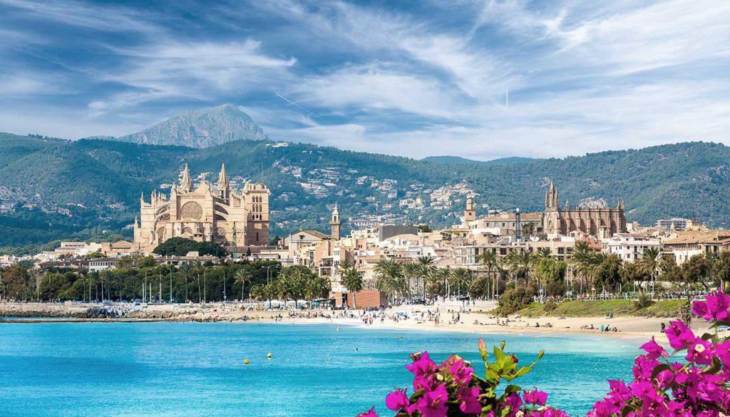 Cityscape of Palma de Mallorca