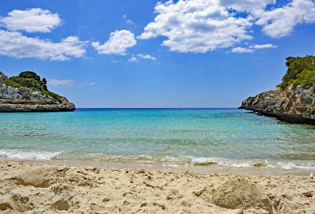 Beach at Cala Torta Mallorca