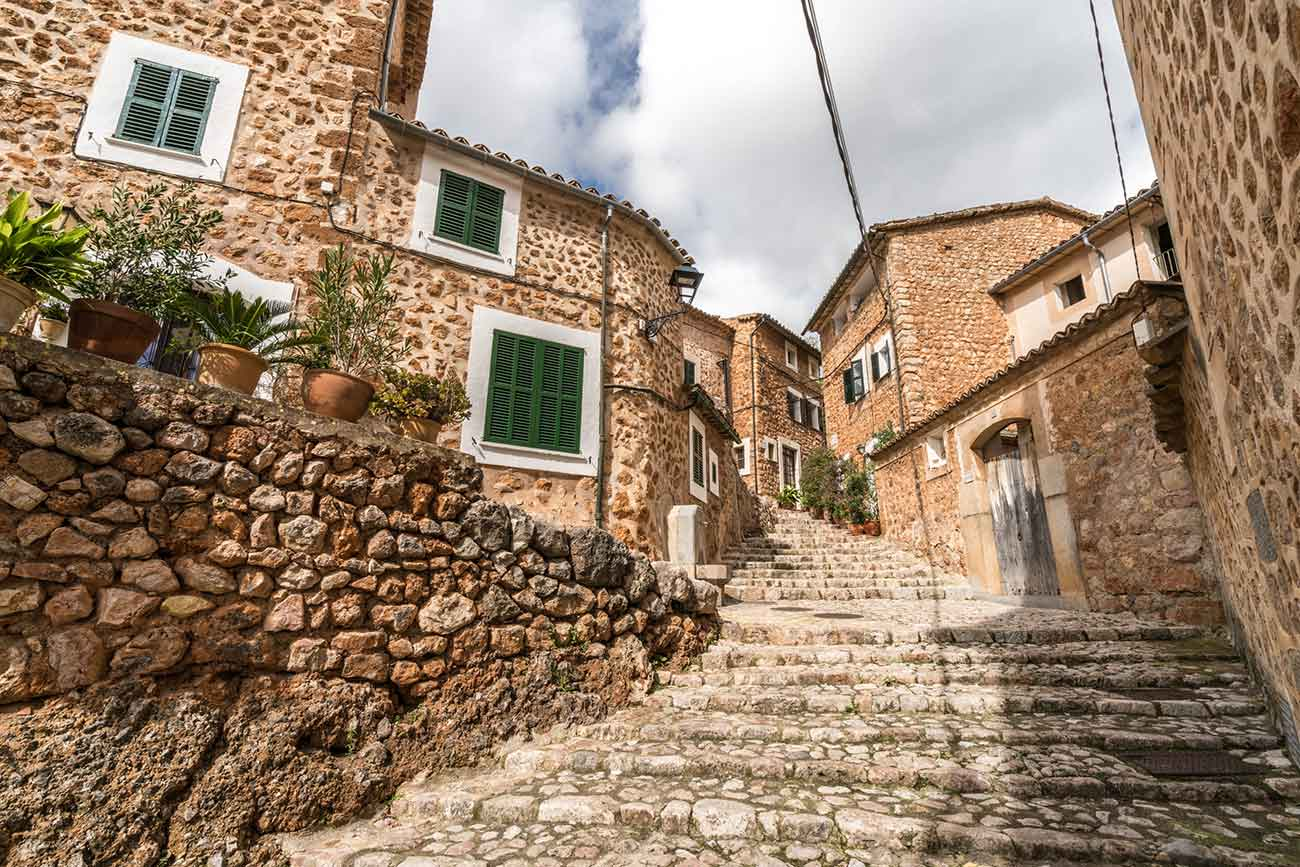 Fornalutx Town in Mallorca