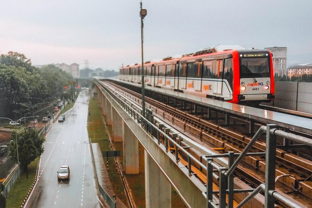 Rapid KL Train in Malaysia
