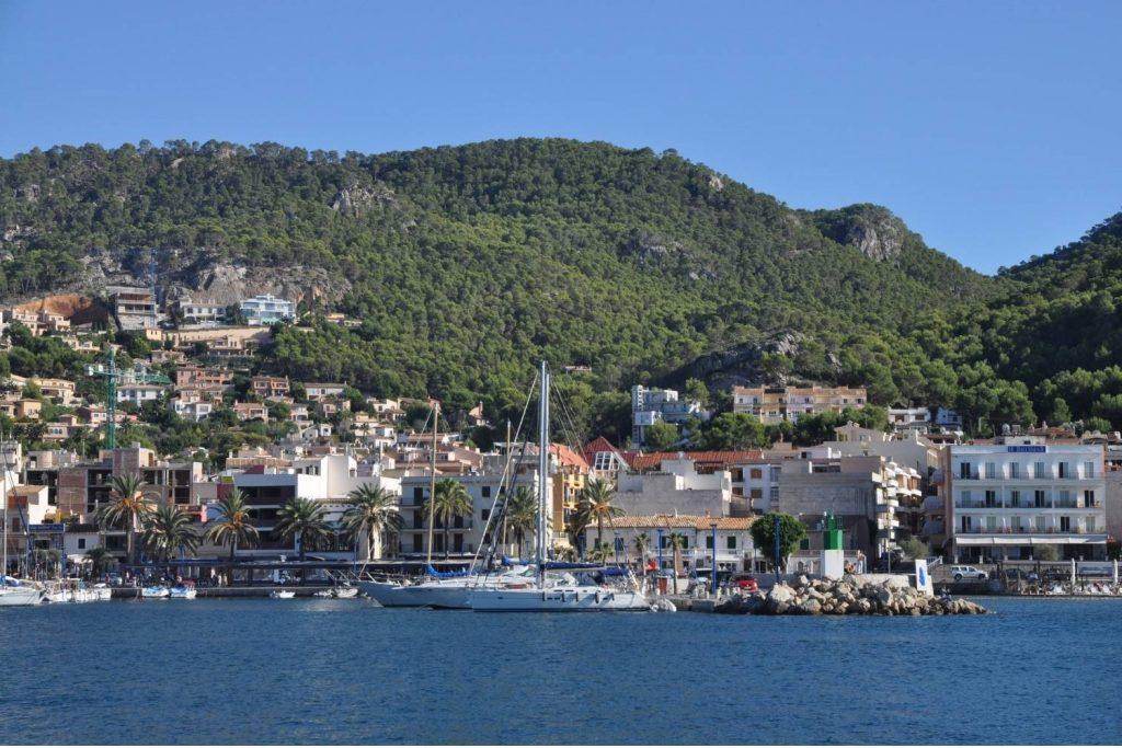 boats at Port D'Andratx in Mallorca