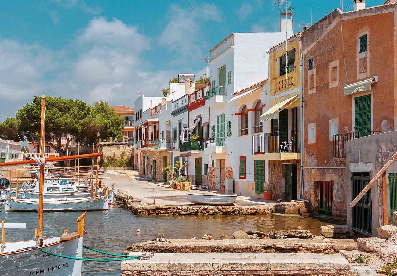 Port of Portocolom in Mallorca
