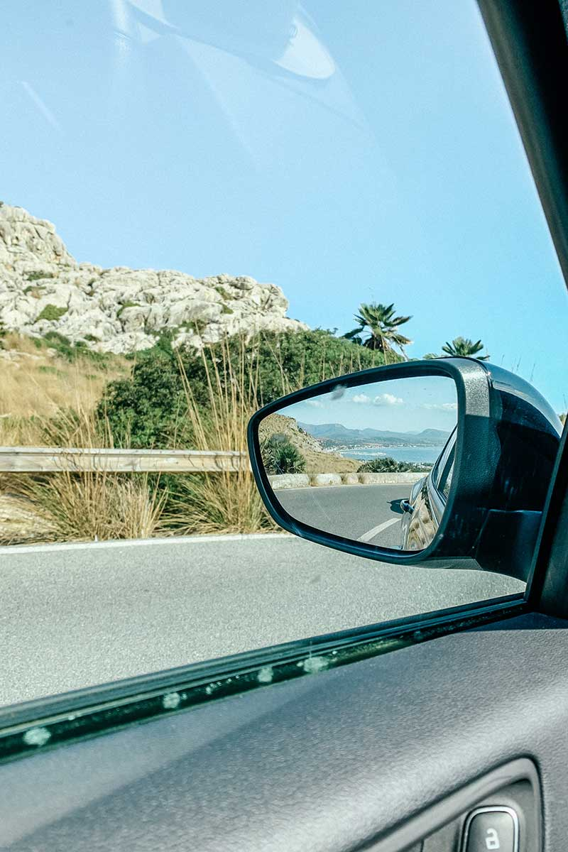 Road to Formentor in Mallorca Spain