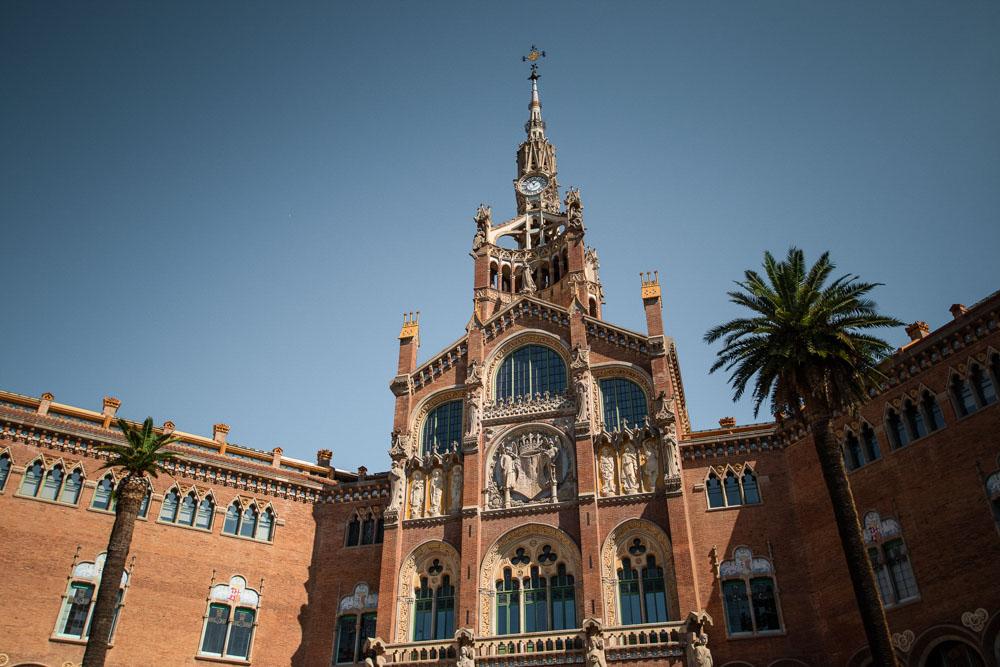 Saint Pau Hospital in Barcelona Spain