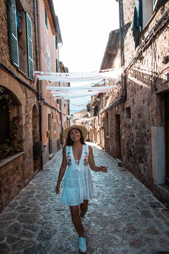 Valldemossa Town in Mallorca Spain