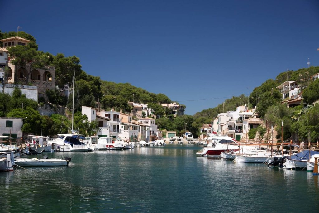 port at Cala Figuera in Mallorca