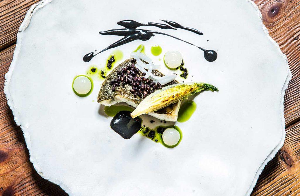Gourmet Dish at Adrian Quetglas Restaurant in Mallorca