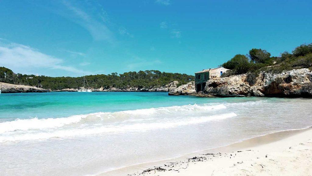 Beach at S'Amarador in Mallorca