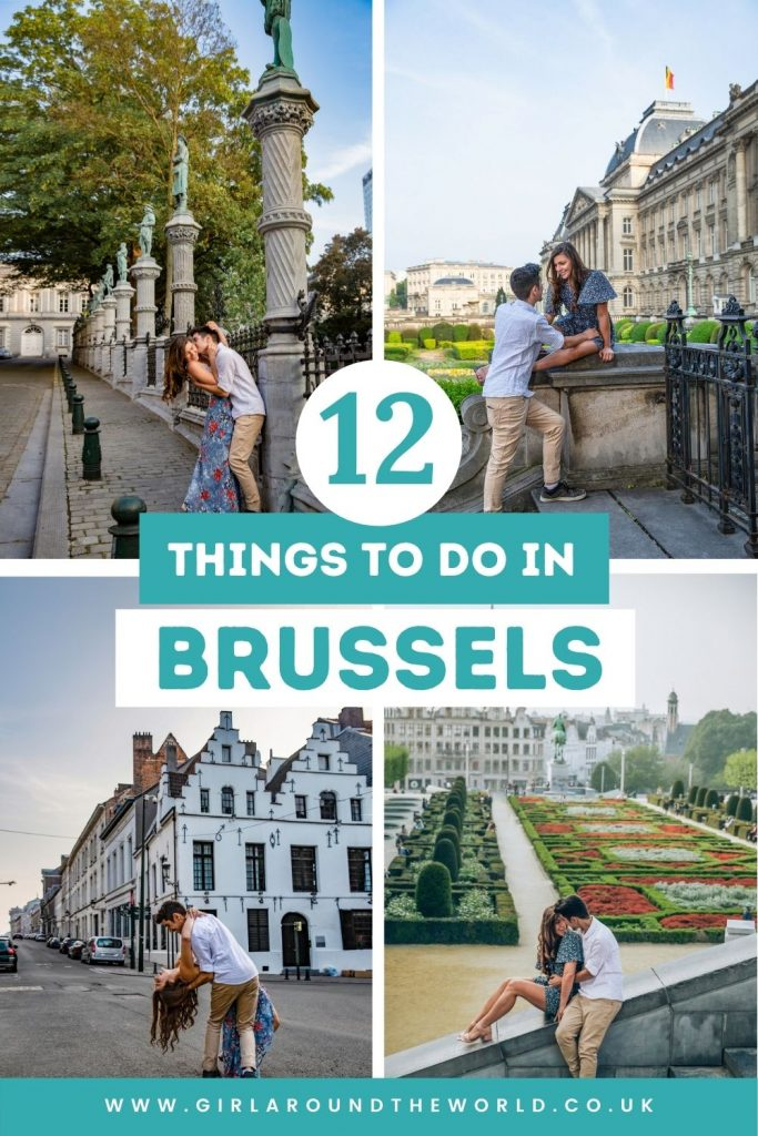 12 Things to do in Brussels Belgium pin