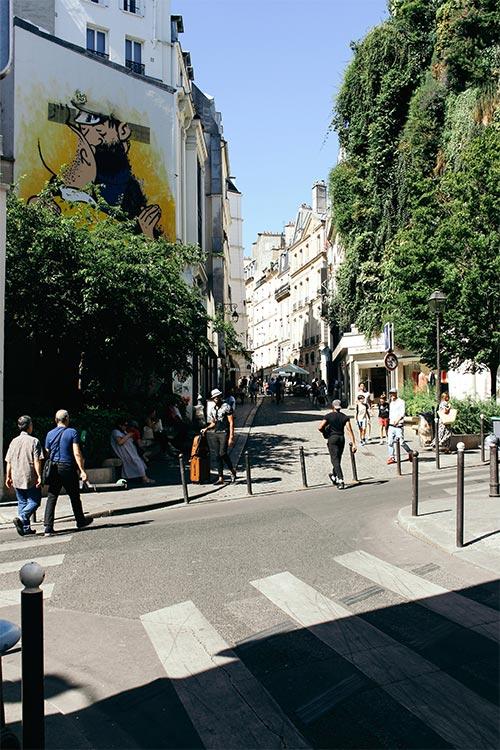 Belgium brussels tintin street art