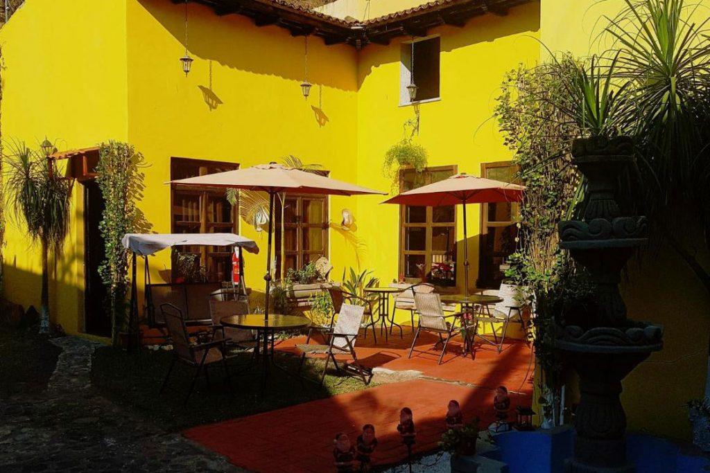 Hotel Casa del Cerro, one of the best hotels in antigua guatemala