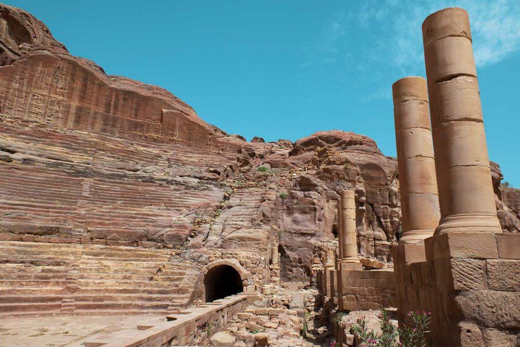 The High Place of Sacrifice in Petra Jordan