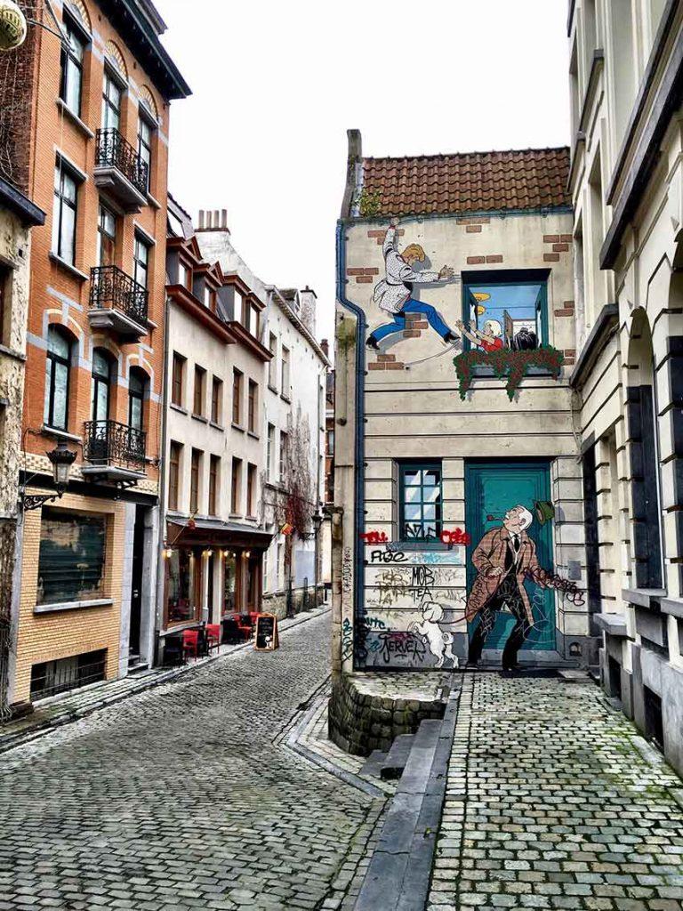 Saint Gilles in Brussels Belgium