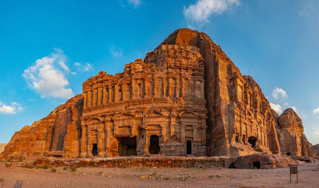 The Royal Tombs in Pedra Jordan