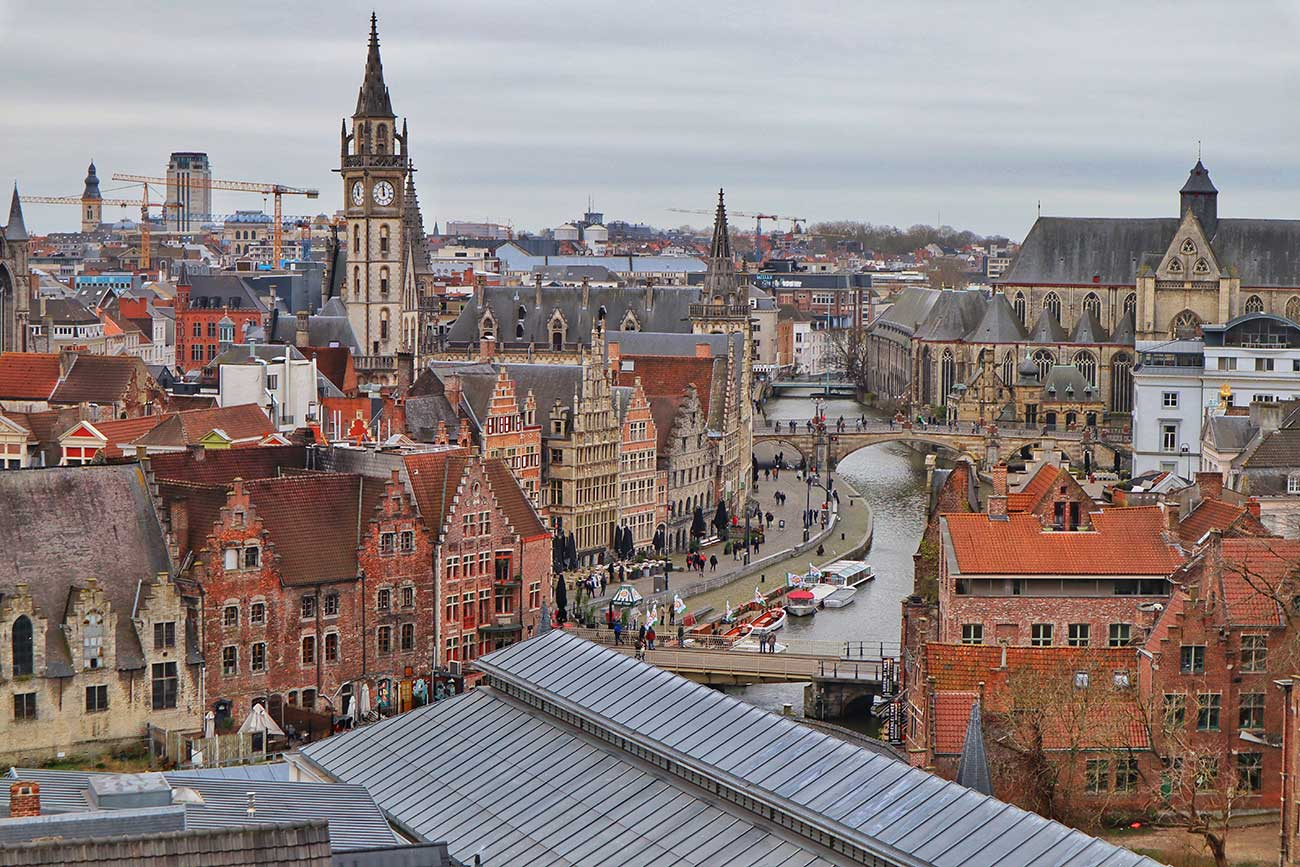 Things to see in Ghent Belgium