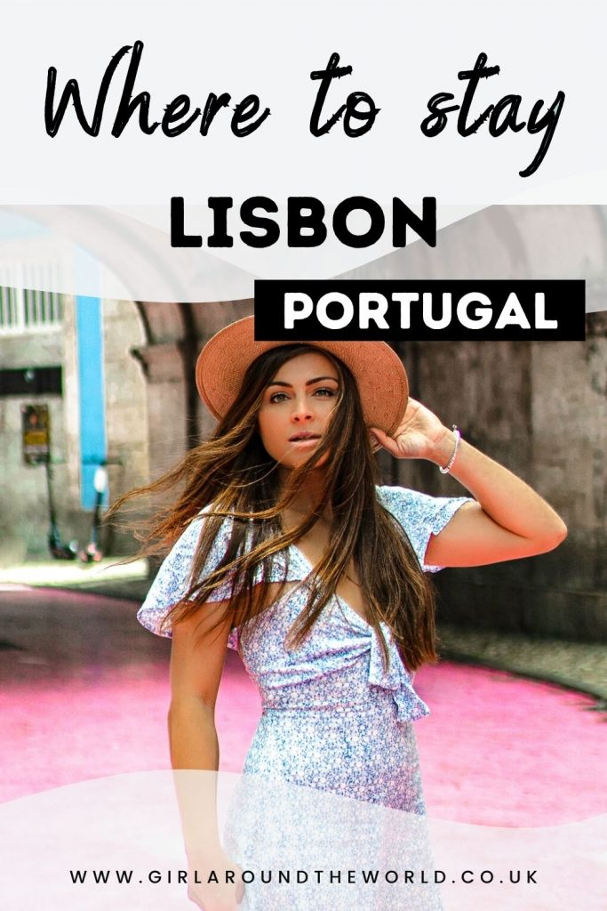 Where to stay in Lisbon Pin 1