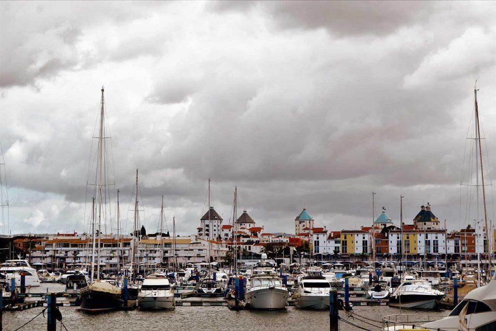 Porto de Faro in Portugal