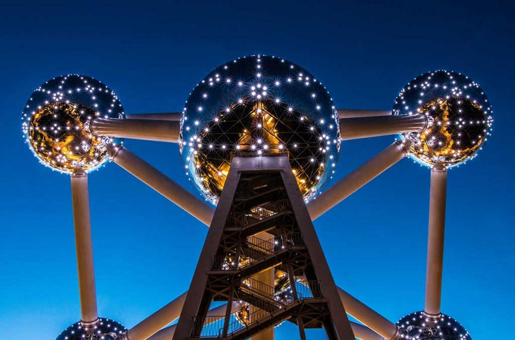 fun facts about the atomium in brussels