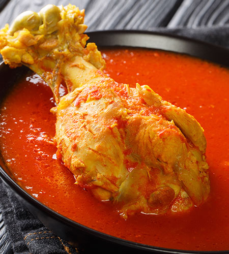 kak'ik guatemalan dish turkey soup