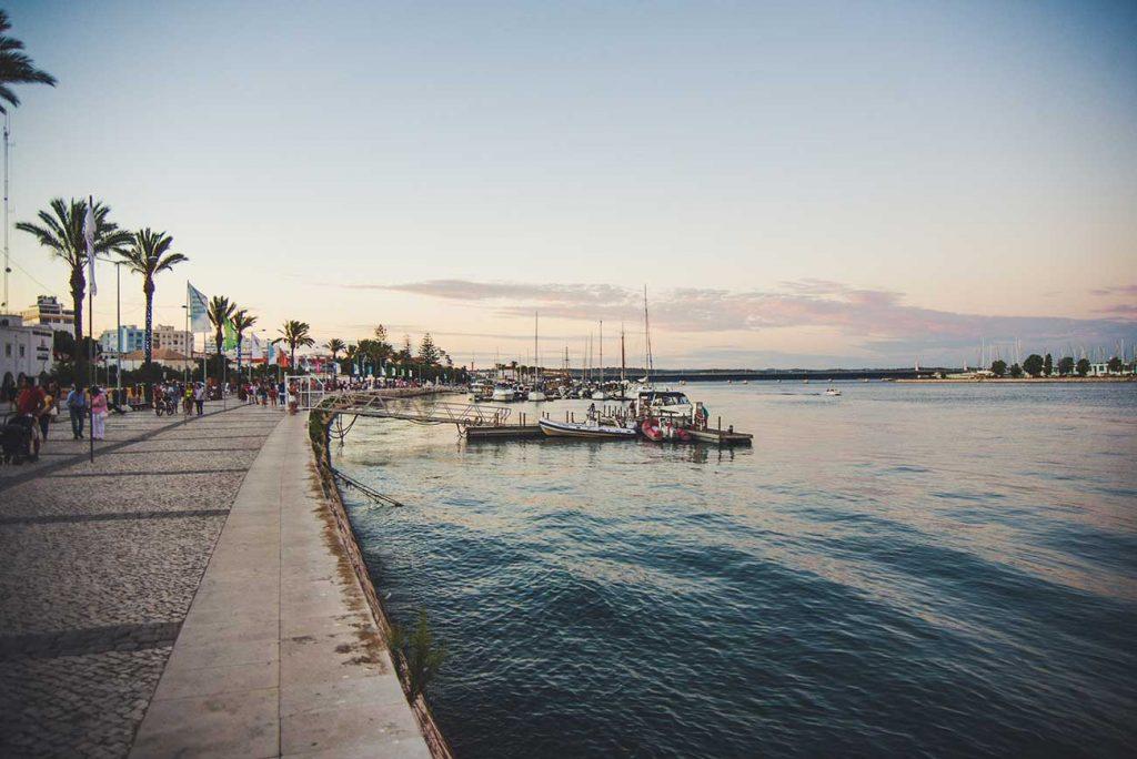 Portimao Port in Algarve Portugal