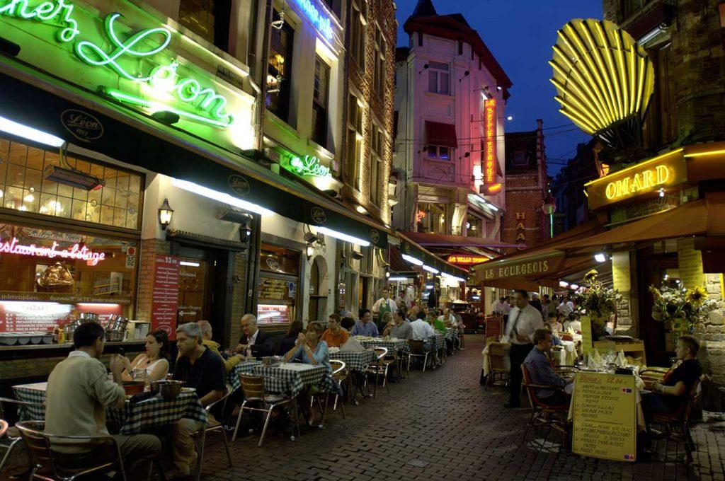 saint gery area in Brussels