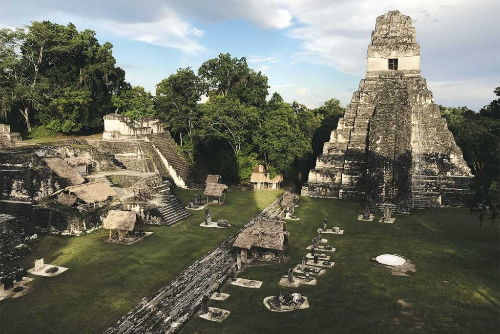 Tickets for the Tikal National Park