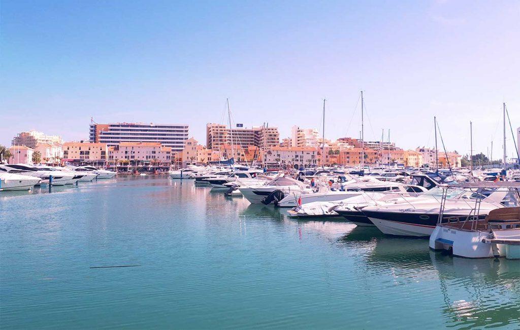 Vilamoura Port in Algarve Portugal