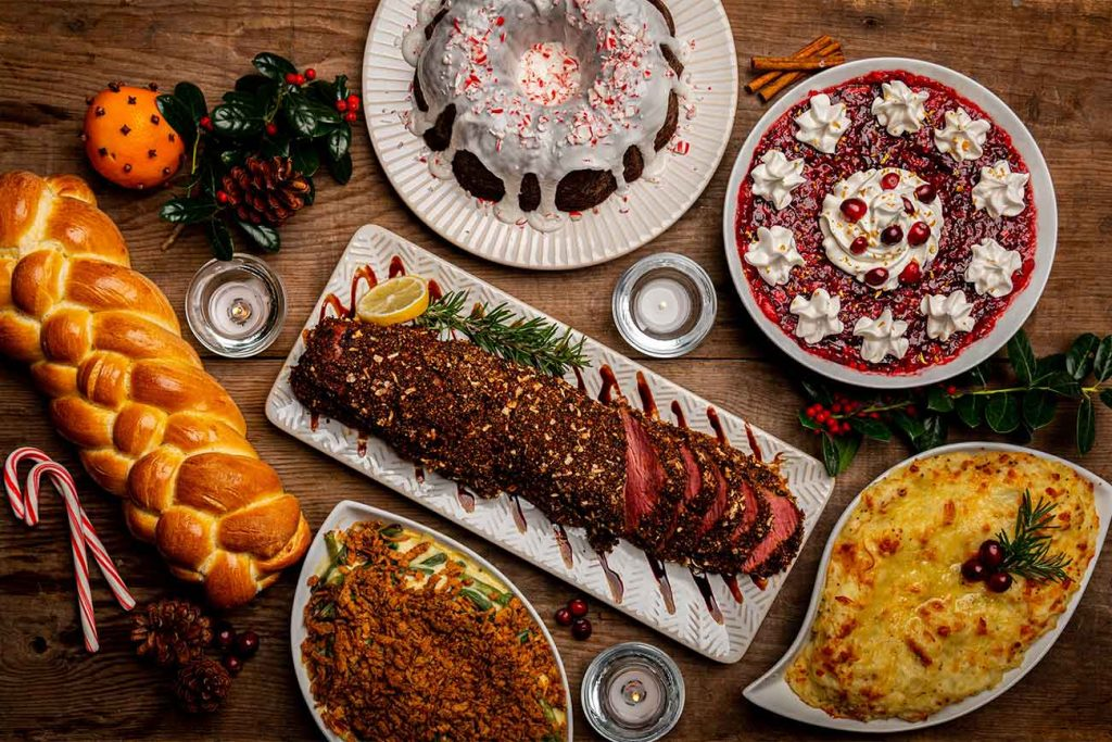 Best places to go in London for Christmas lunch and dinner