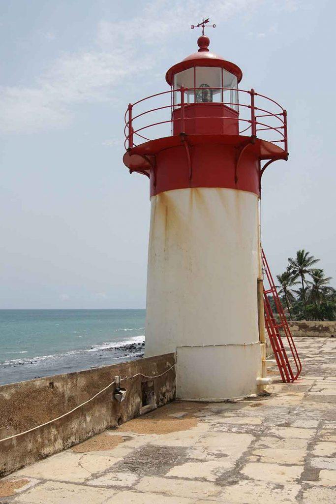 watchtower at Sao Sebastiao Fortress in Sao Tome