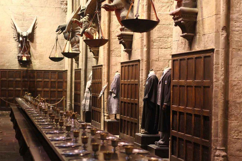 christmas at hogwarts london