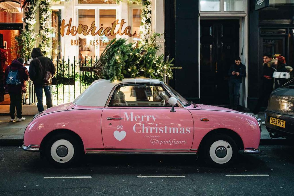festive tours of London