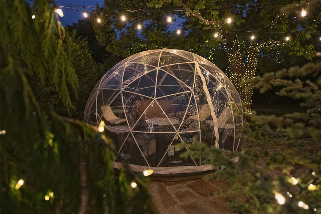igloo dining experience in london