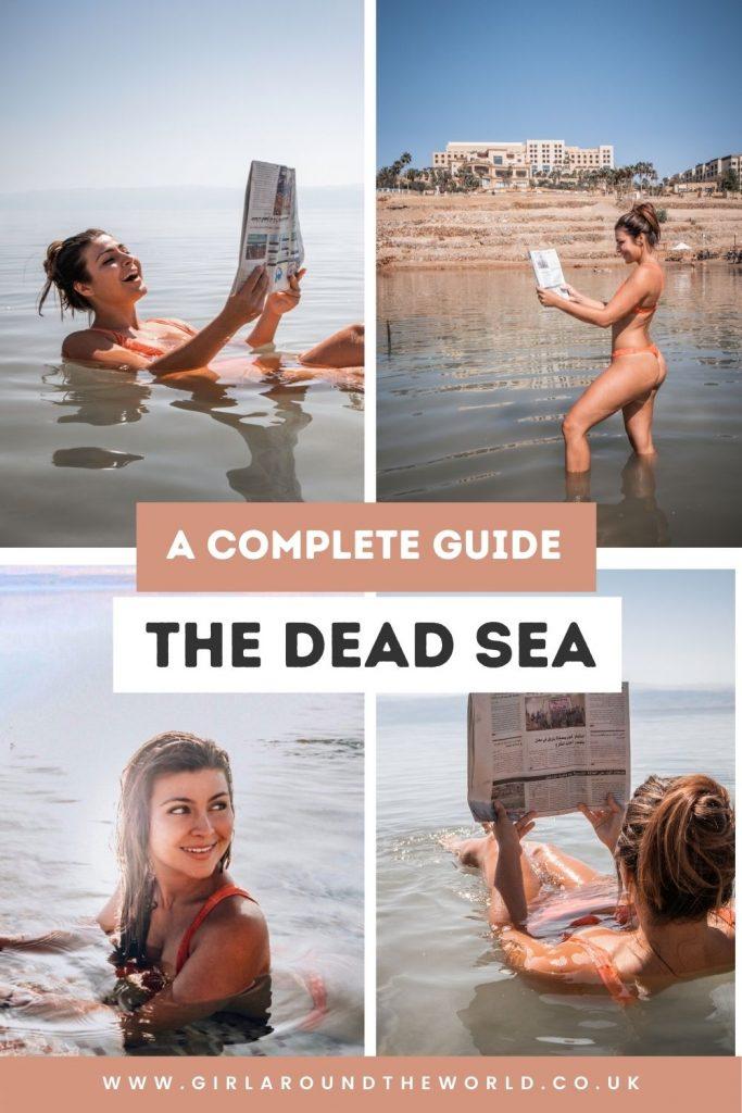 Dead Sea Guide Pin