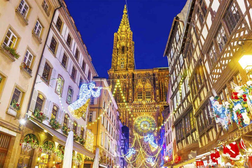 Le Marche de Noel de Strasbourg, France