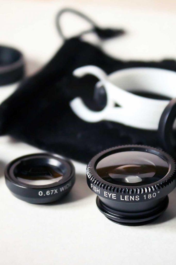 Mobile camera lens kit