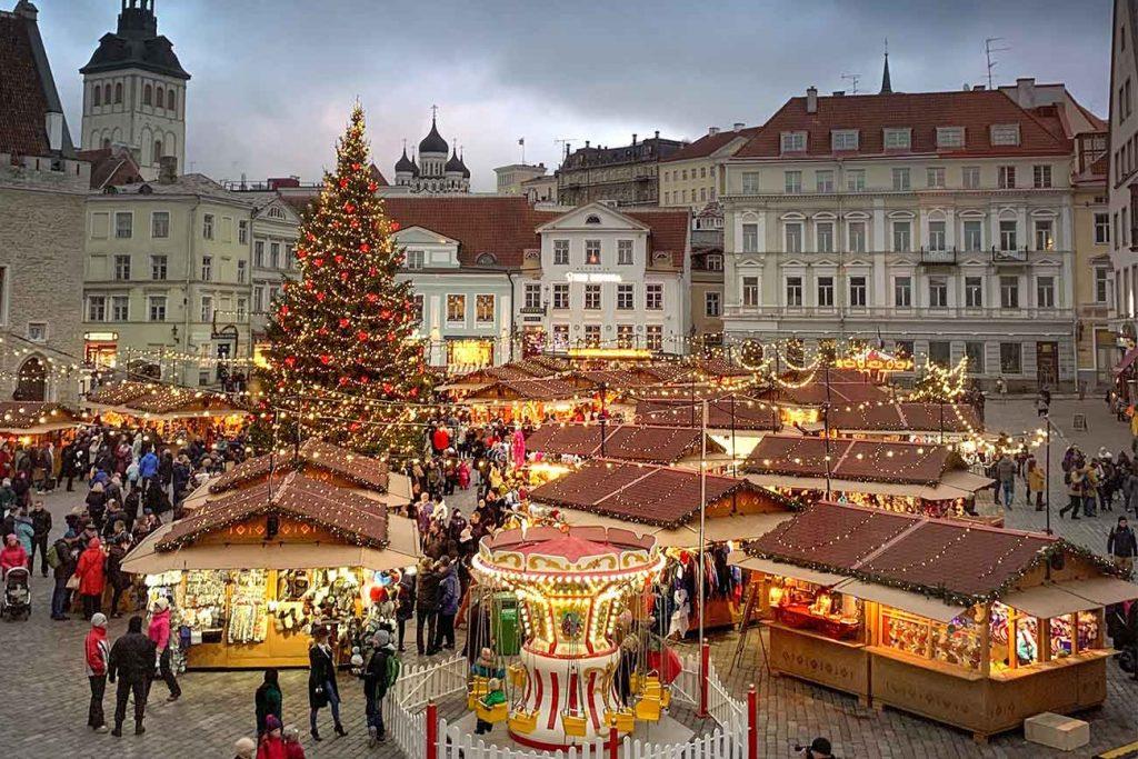 Tallinn Christmas Market, Estonia