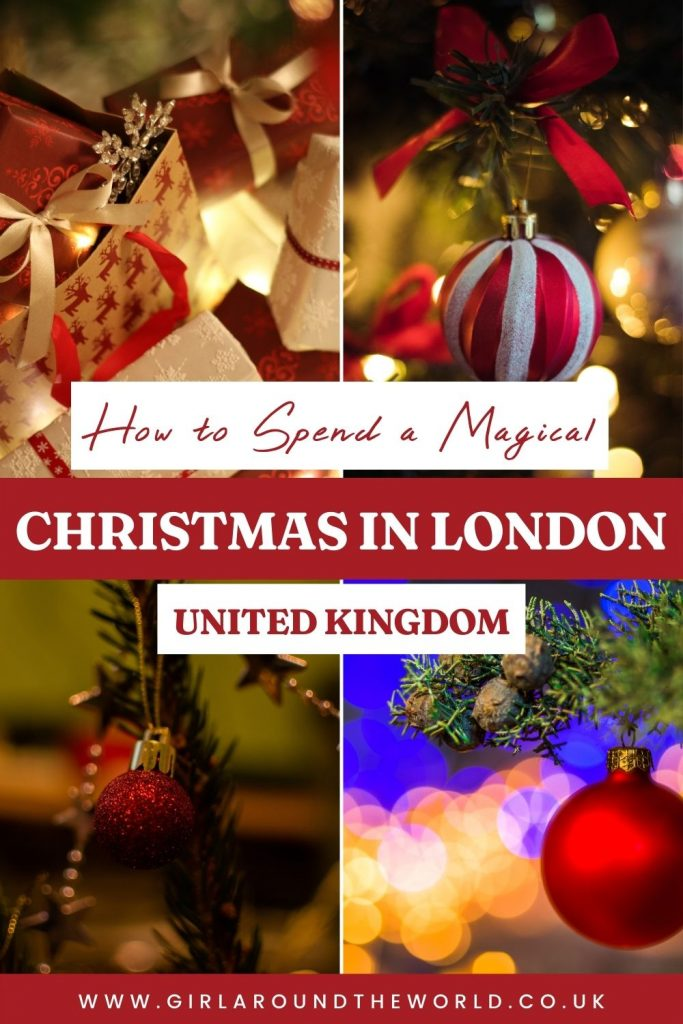 how to spend a magical christmas in london