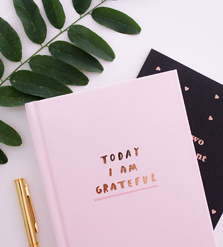 writing a letter of gratitude