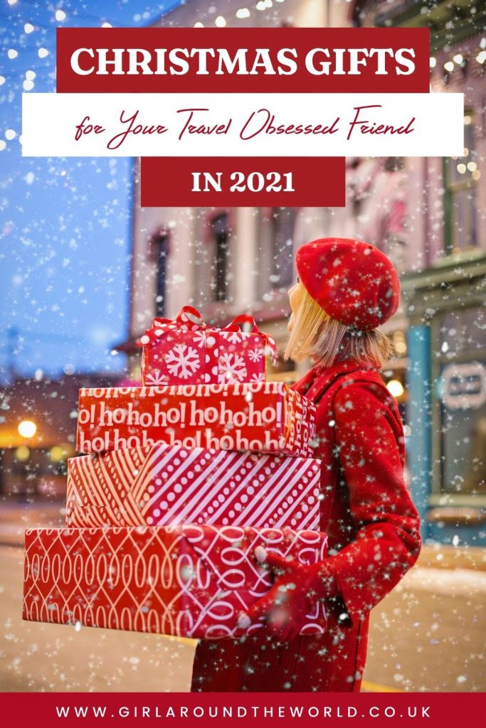 Christmas Gifts for your travel obsessed friend in 2021